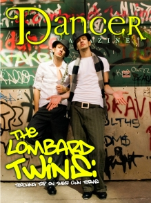 Wyoming Telford Photography, Dancer Magazine, Lombard Twins Feature